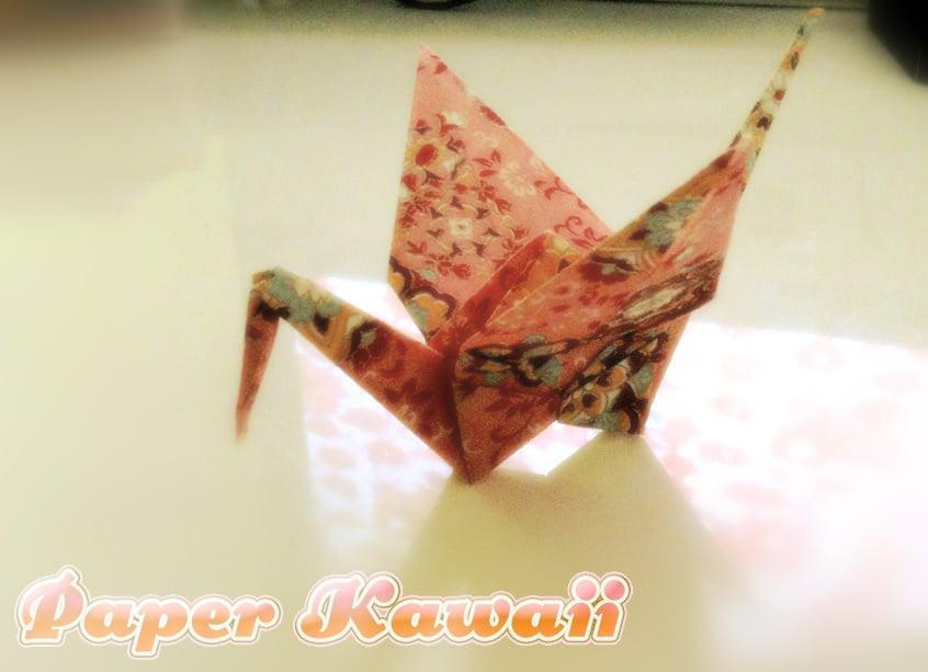 Origami Crane And Variations Paper Kawaii