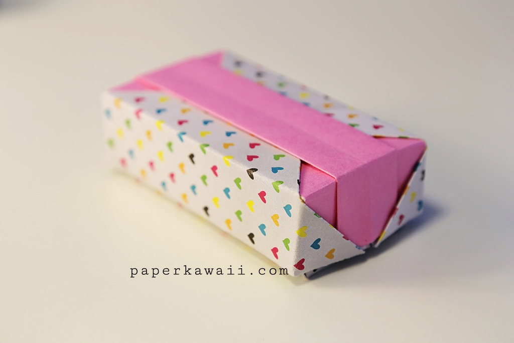 Origami Gift Box - Tutorial Video - Paper Kawaii - photo#25