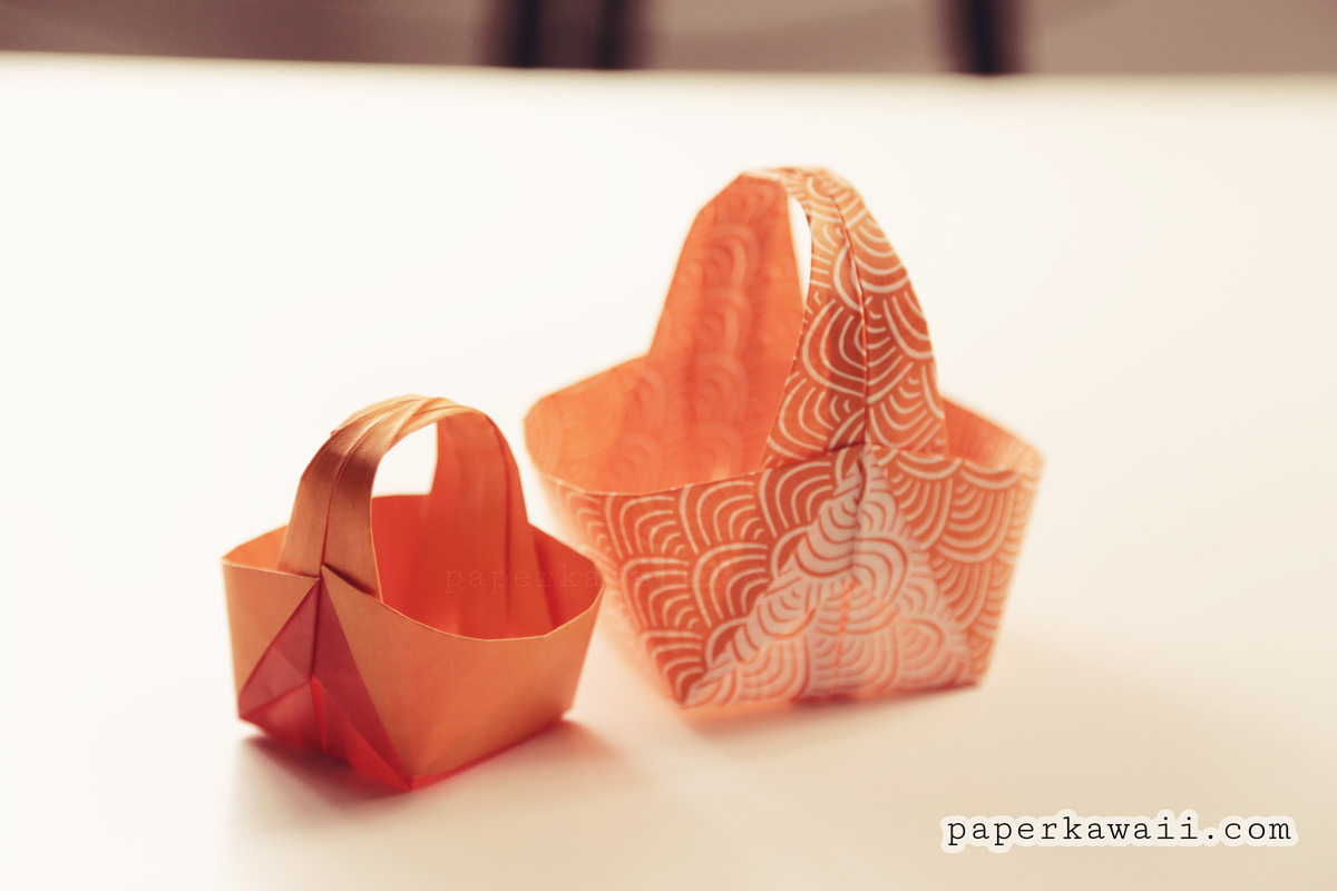 How To Make An Origami Bunny Box