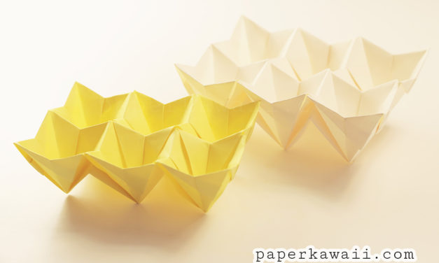 Origami Egg Box Tutorial – Easter!