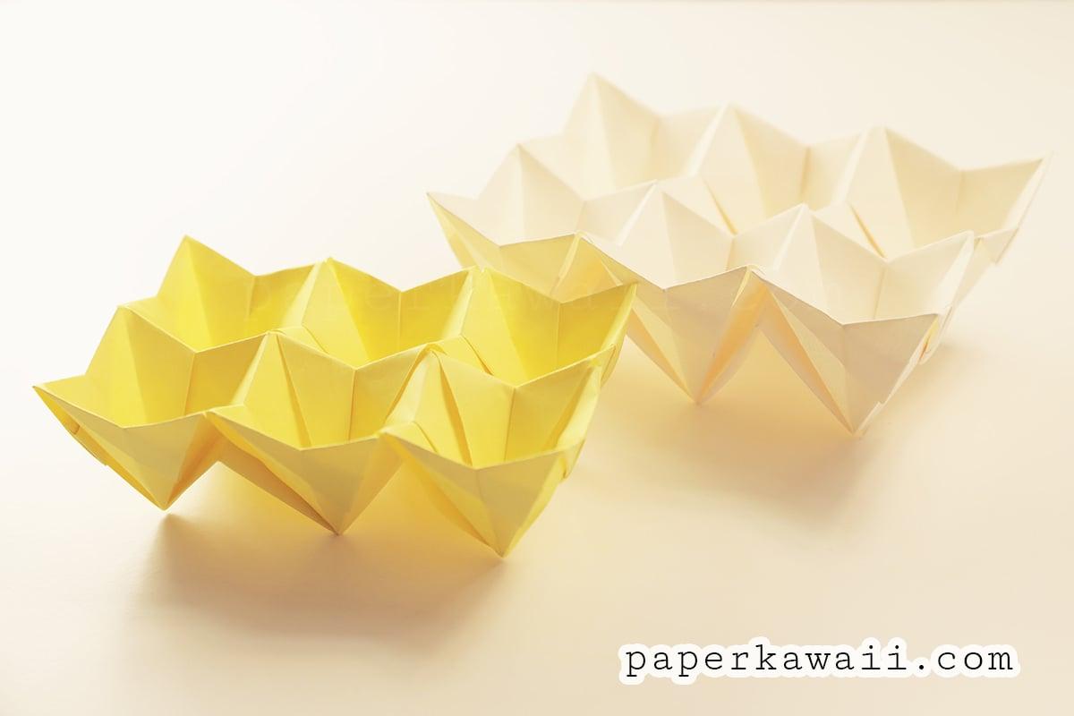 Origami Egg Box Tutorial - Easter! - Paper Kawaii