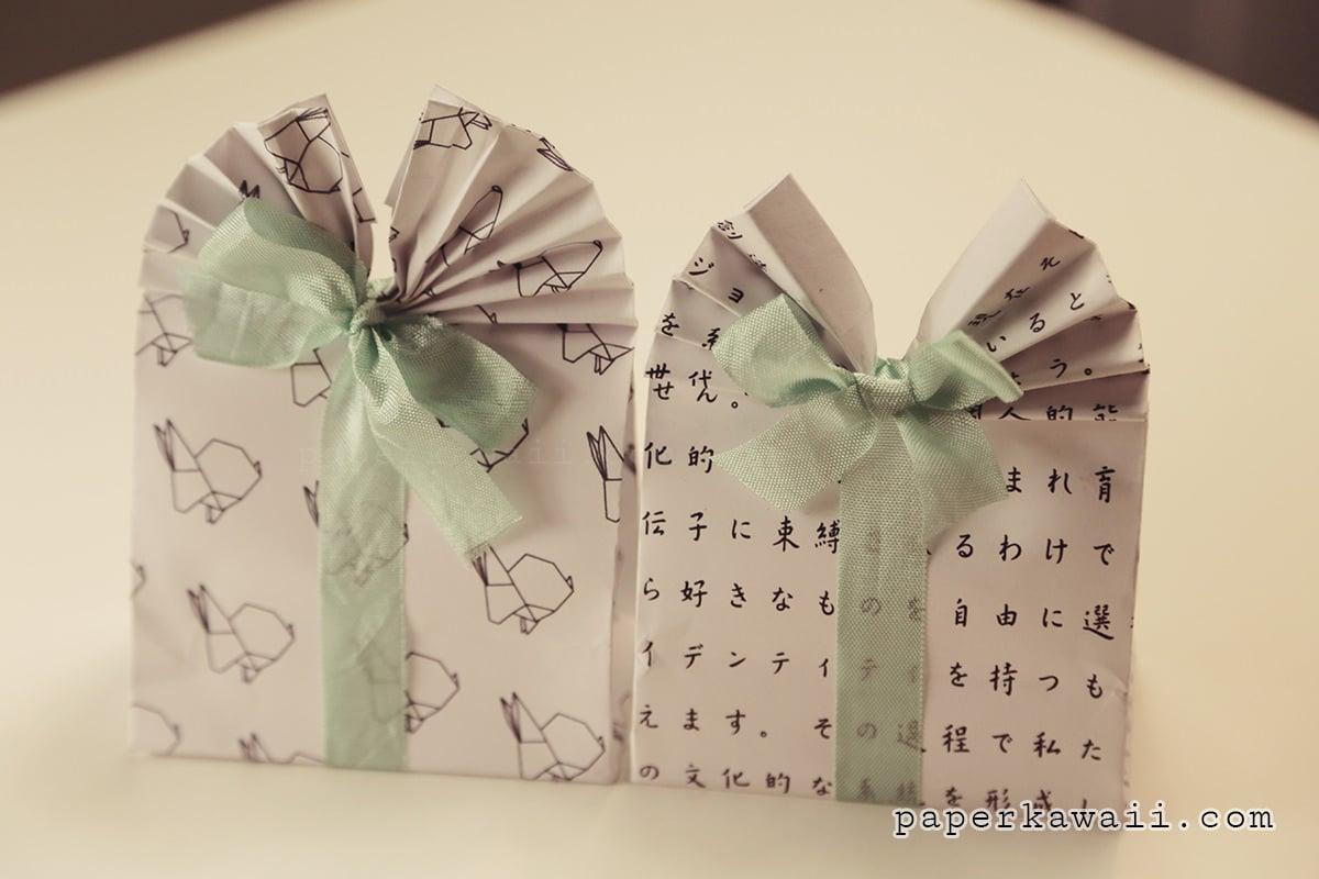 Origami Gift Bag Tutorial - Paper Kawaii - photo#44