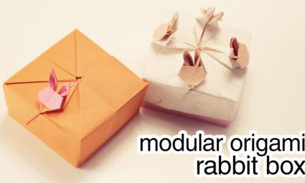 Modular Origami Rabbit Box Tutorial