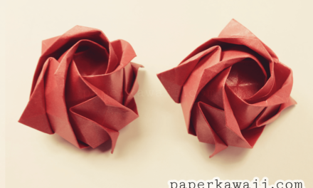 Origami Kawasaki Rose Video Tutorial