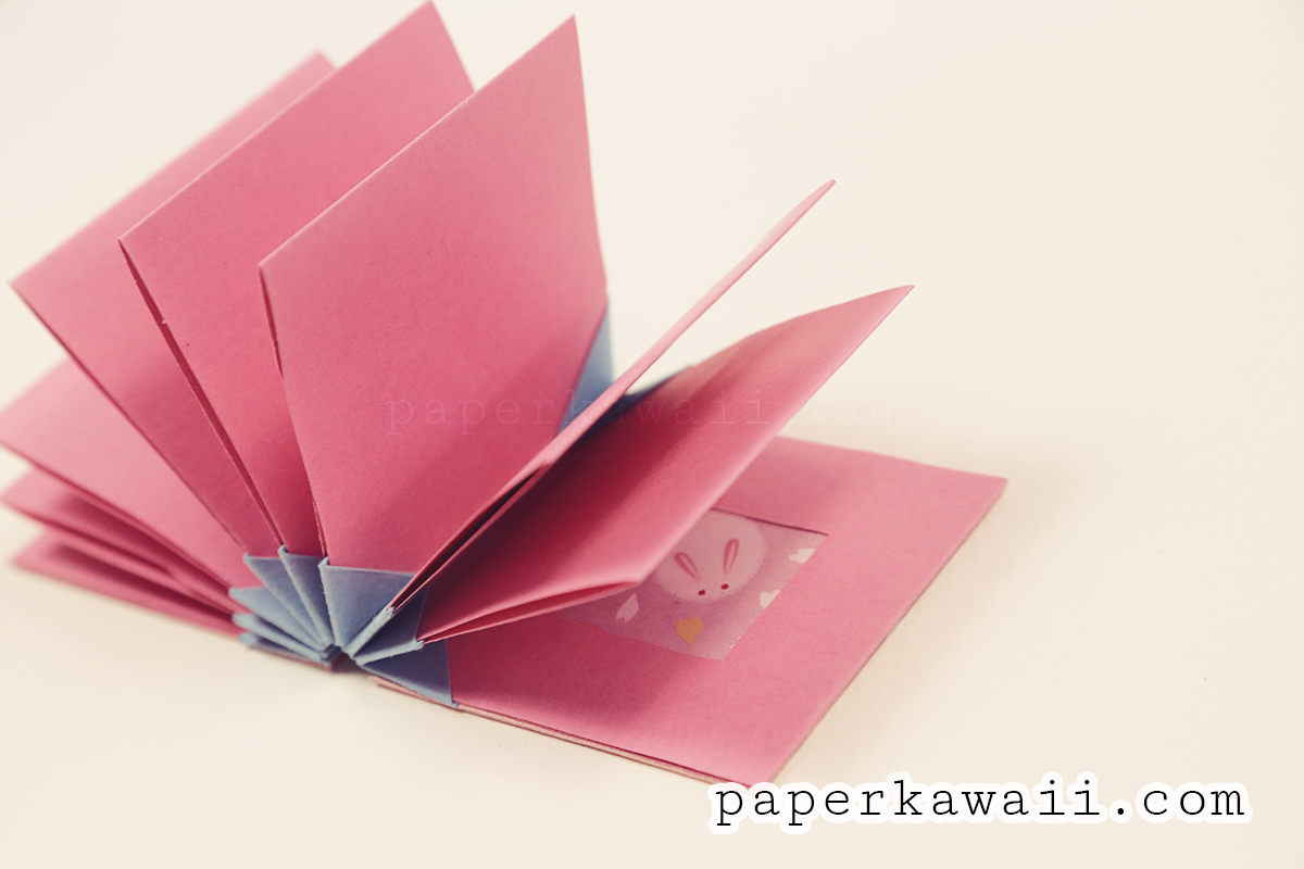 Origami Blizzard Book Tutorial Video - Paper Kawaii - photo#44