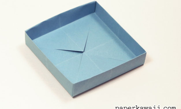 Square & Shallow Origami Masu Box Tutorial