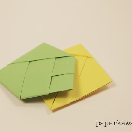 How to make an Origami Paperclip via @paper_kawaii