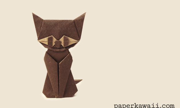 Modular Origami Cat Tutorial
