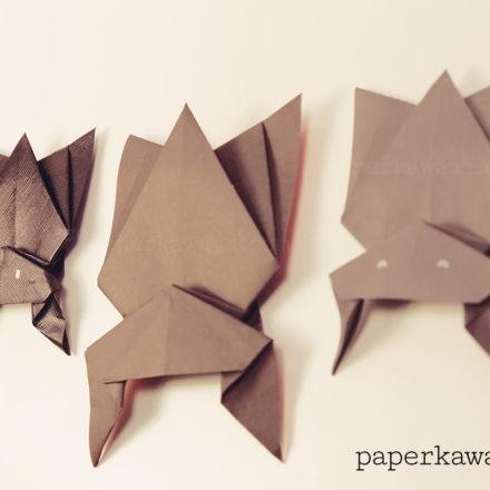 Spooky Halloween Origami Models! via @paper_kawaii