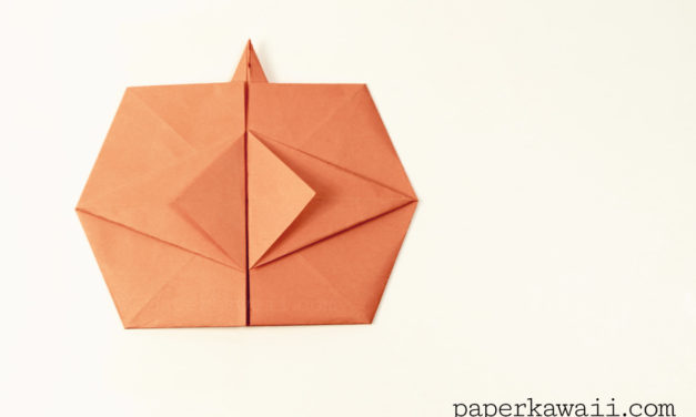 Origami Pumpkin Tato Video Tutorial