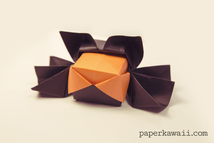 how to make a origami spider youtube