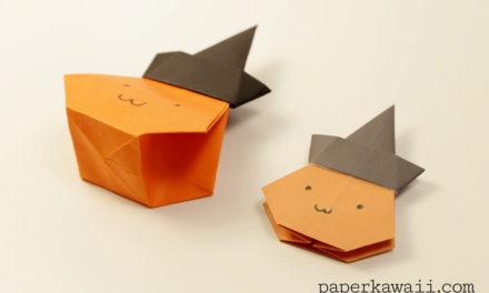 Origami Pumpkin Bag – Halloween Video Tutorial
