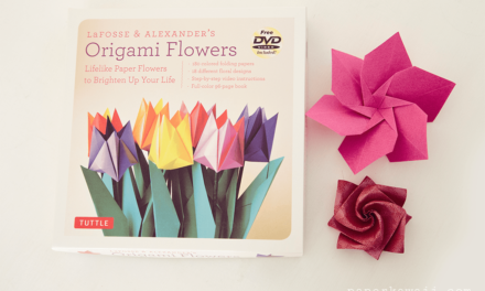 Origami Flowers by LaFosse & Alexander – Book Review