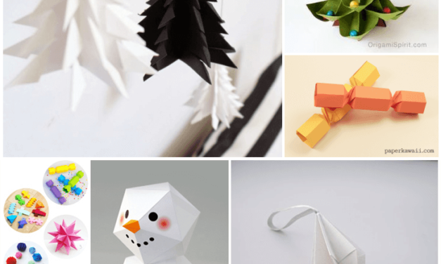 Christmas Origami 2014 Round Up
