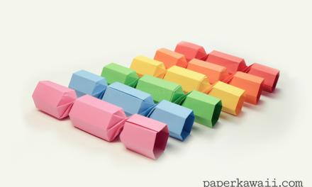 Origami Christmas Cracker Video Tutorial