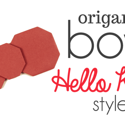 Origami Bow / Ribbon with Tails Video Tutorial via @paper_kawaii