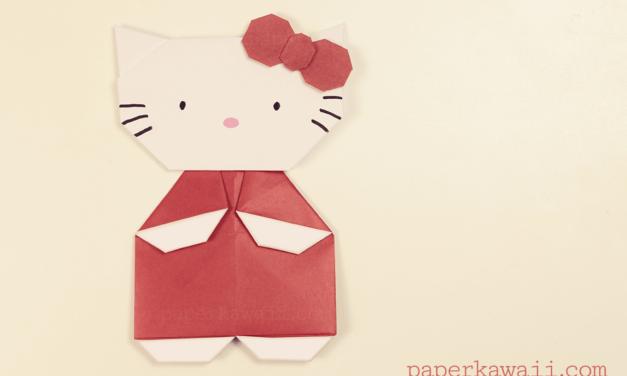 c6b07afb3 Hello Kitty Origami - Page 1 - Paper Kawaii