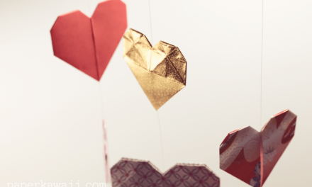 Origami Double Sided Heart Video Tutorial