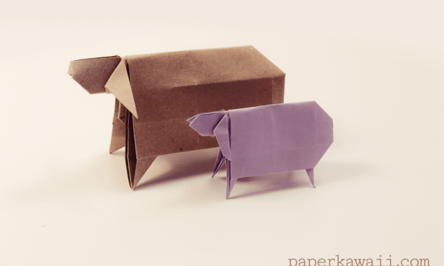 Origami Sheep Tutorial