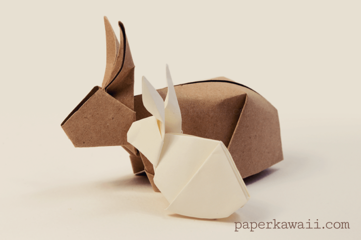 Origami Tutorial Rabbit