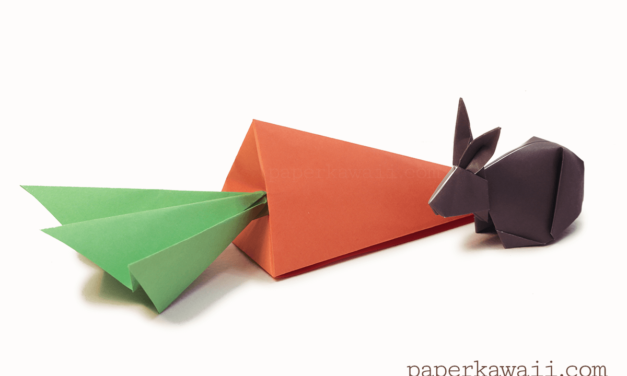 Origami Carrot Box Video Tutorial