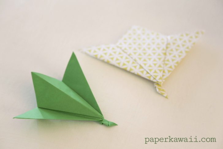 Origami Leaf Tutorial - Easy! via @paper_kawaii
