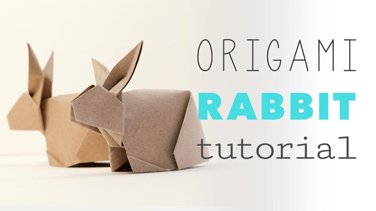 Origami Bunny Rabbit Tutorial - Paper Kawaii - photo#37