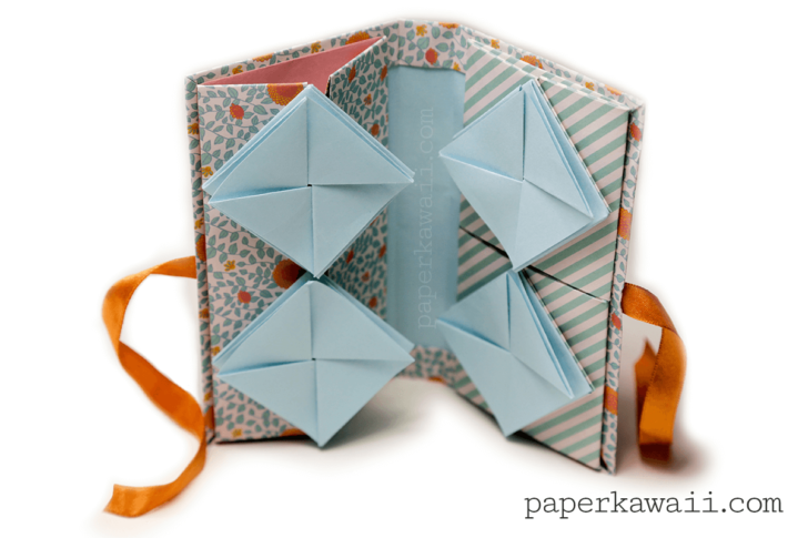 origami chinese thread book video tutorial paper kawaii