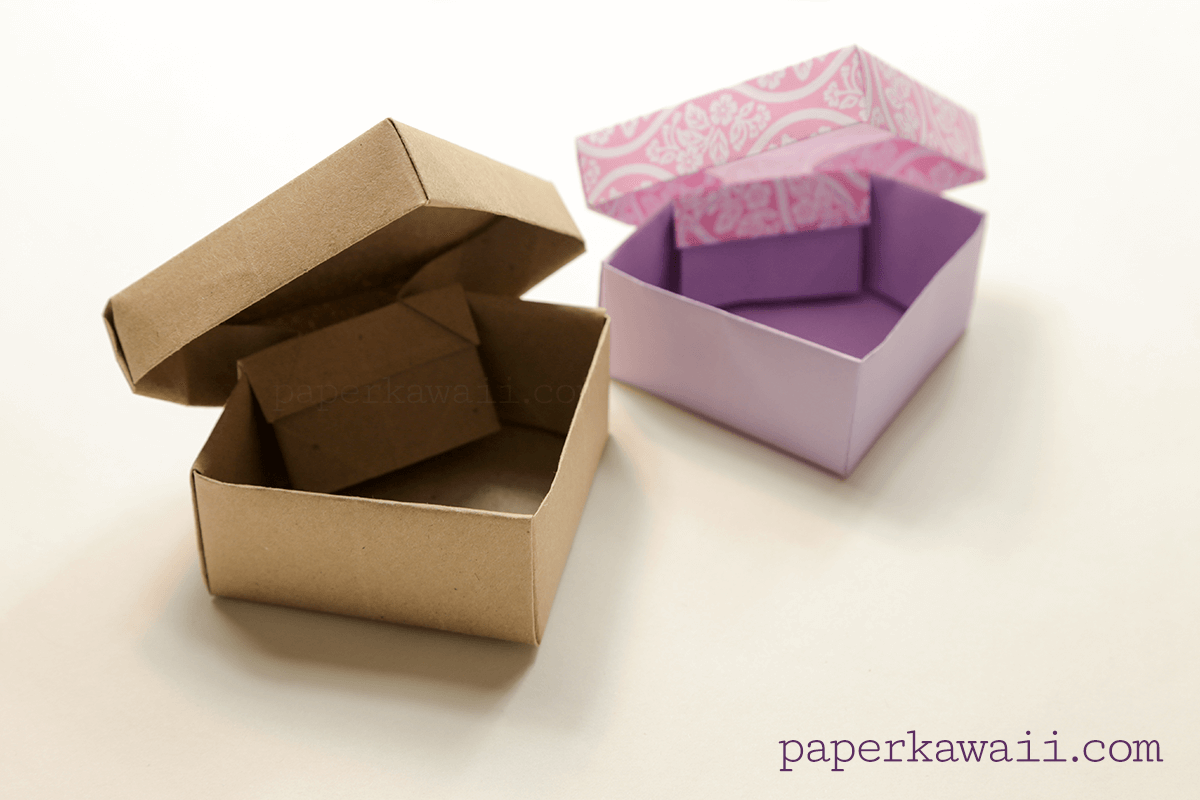 origami ring box instructions