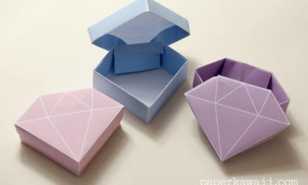 Free Printable – Origami Crystal Box + Tutorial