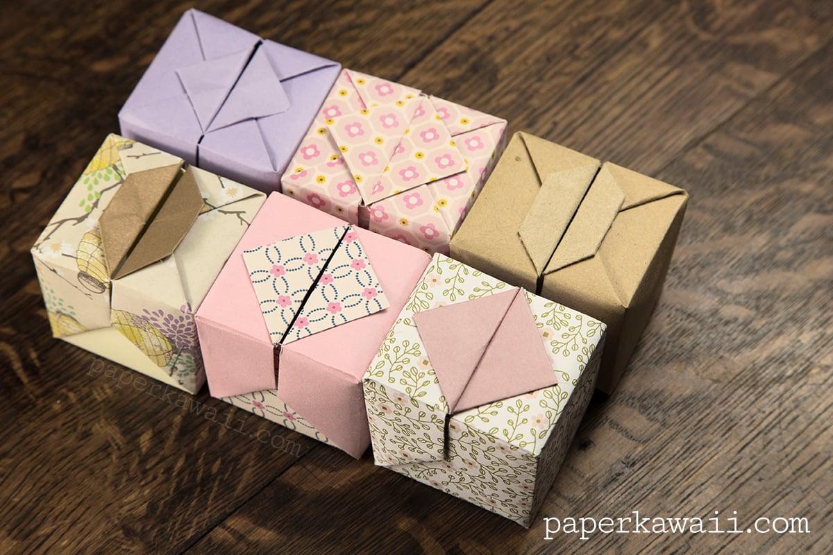 Origami Hinged Box Video Tutorial - Paper Kawaii - photo#11