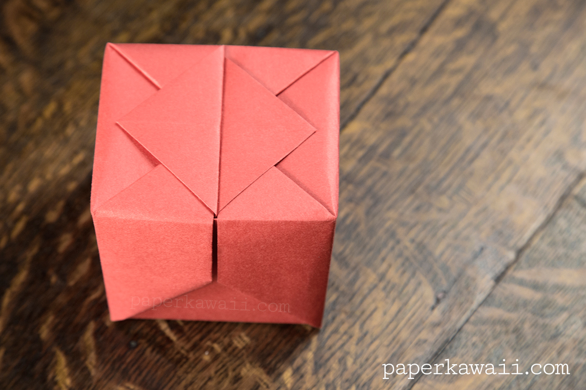 Origami Hinged Box Video Tutorial - Paper Kawaii - photo#50