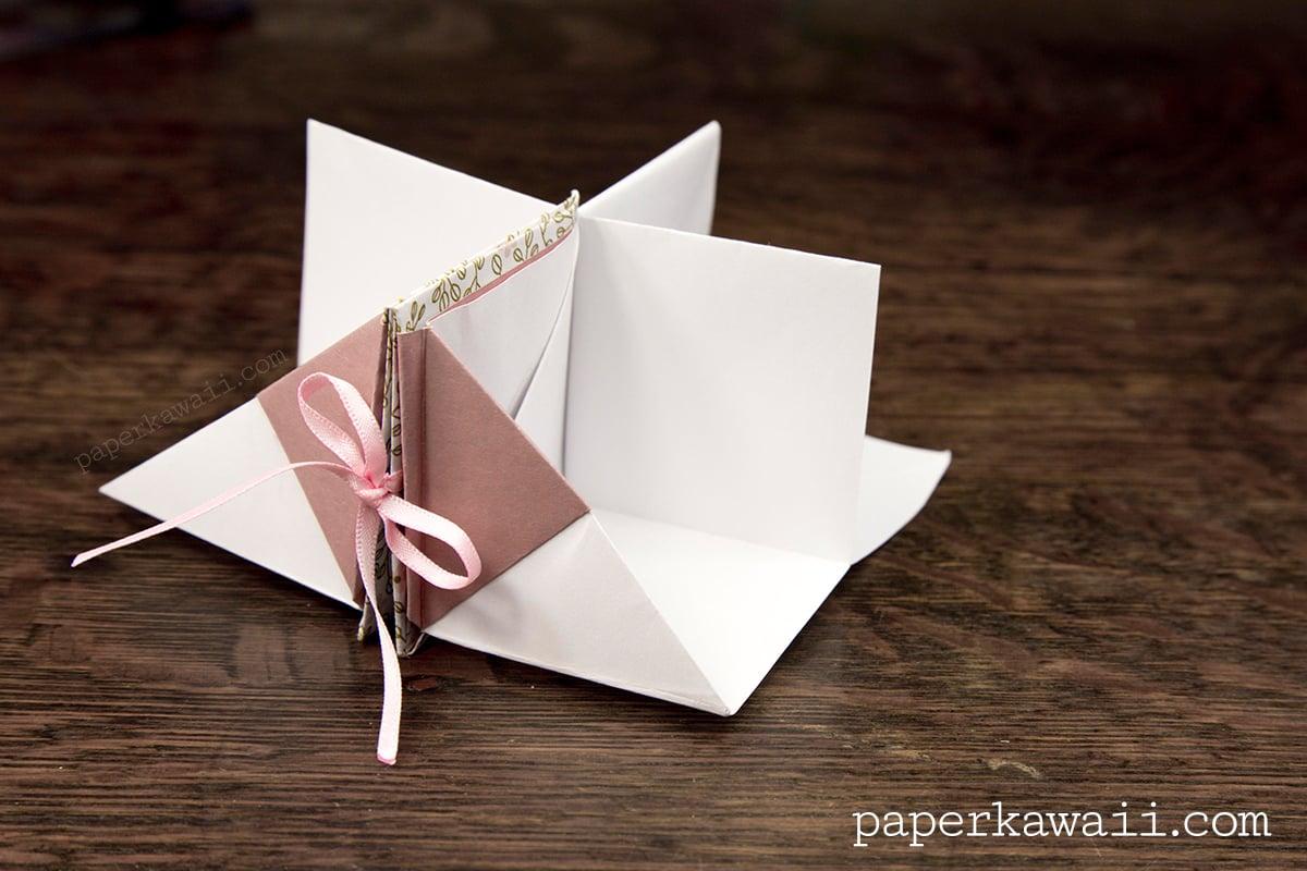 VDYoutube  Origami Flower Bowl Tutorial  DIY  Paper
