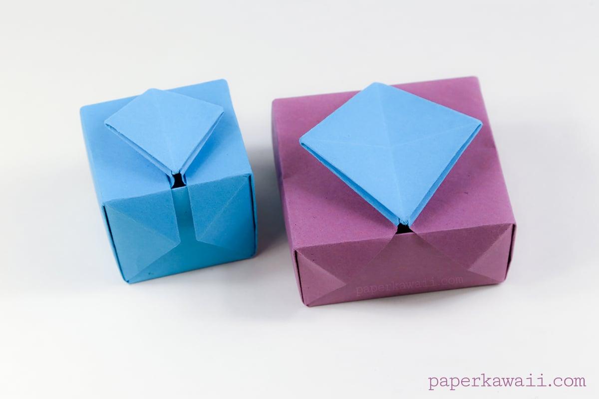 Origami Gatefold Box Instructions - Paper Kawaii - photo#38