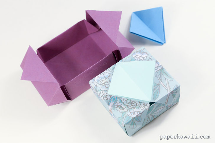 origami box instructions printable