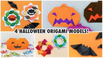 4-halloween-origami-models