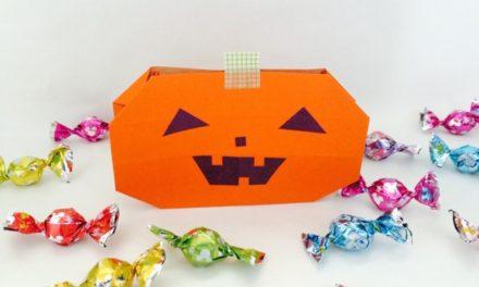 Origami Pumpkin Bag Video Instructions