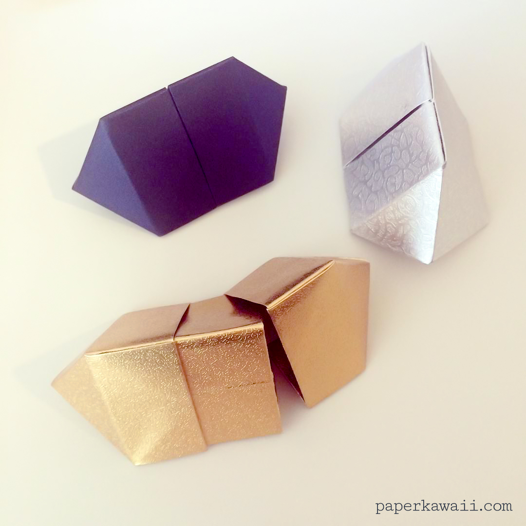 origami paper box instructions