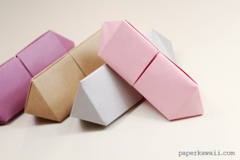 Origami Gem Box - Long Version via @paper_kawaii