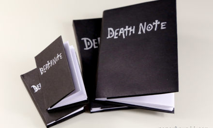 Death Note Origami Book Video Instructions