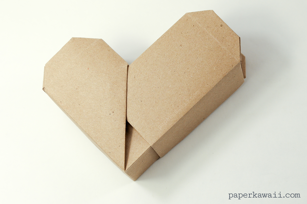 Origami Heart Box Video Instructions - Paper Kawaii - photo#38