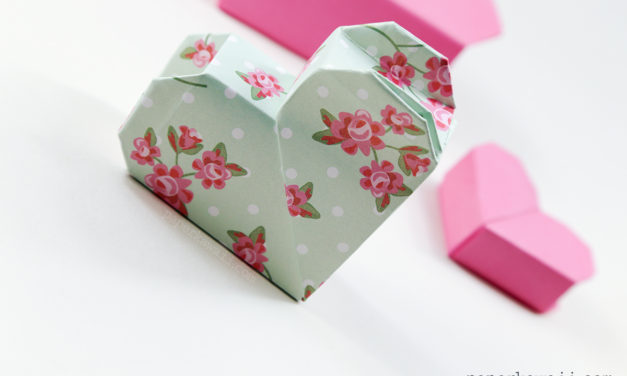Origami Heart Box Video Instructions