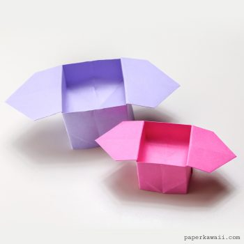 3 Easy Origami Boxes - Photo Instructions - Paper Kawaii - photo#4