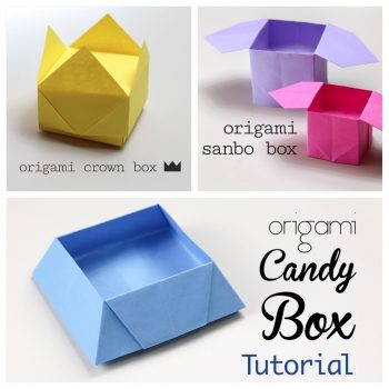 3 Easy Origami Boxes - Photo Instructions | #origami #paperkawaii #diy #paperfolding #cute #kawaii #traditionalorigami #easyorigami #box #phototutorial - Here are three little origami boxes, all three are traditional models, I have made photo tutorials for each one, these boxes are all unique of each other, and all are very simple to make.