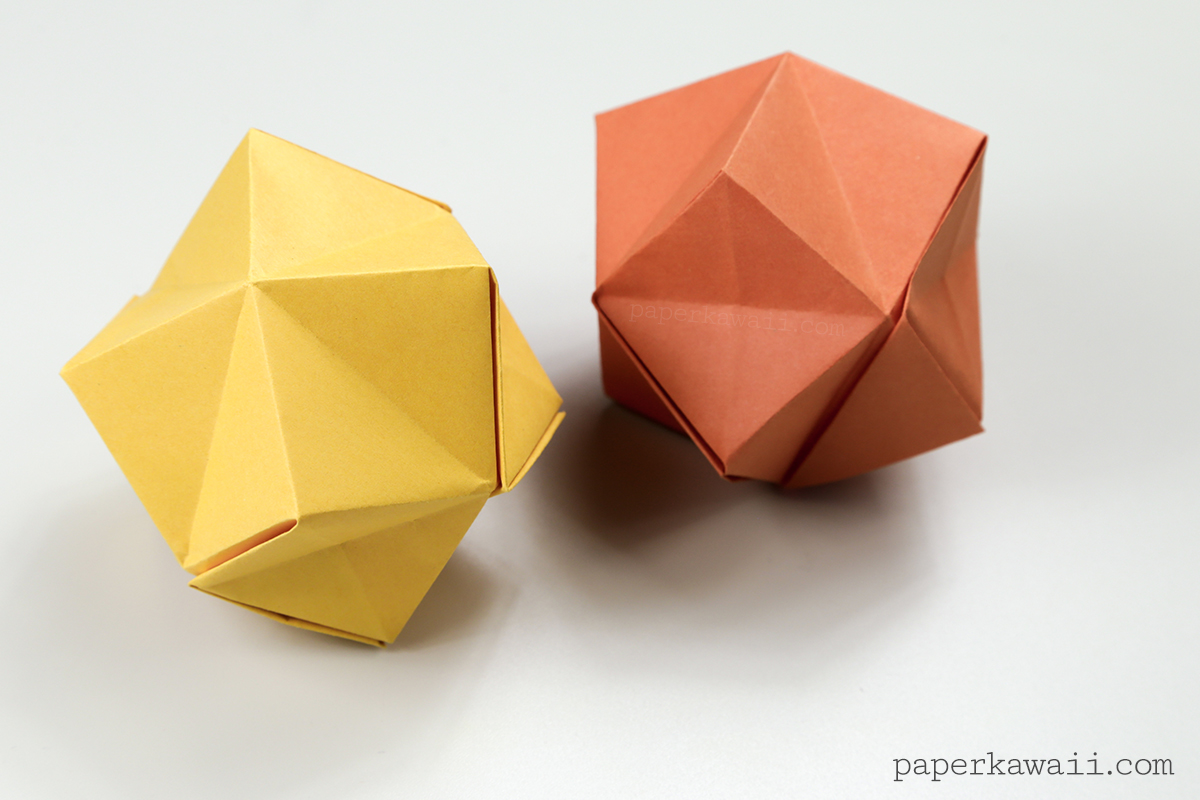 Easy Origami Mini Box