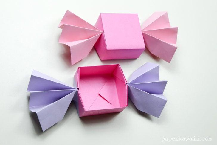 Origami candy box instrcutions 07 728x485
