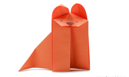 Easy Origami Fox – Video Tutorial