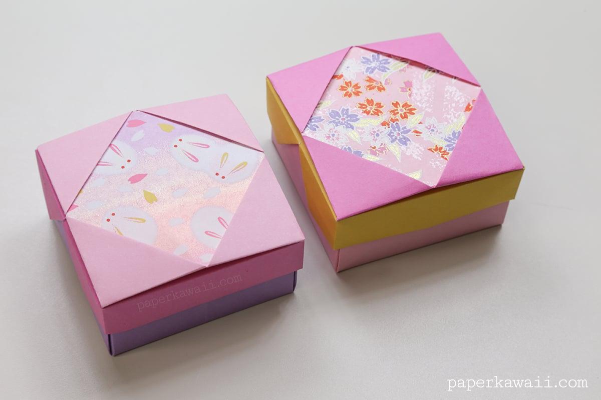 Origami Gift Box - Mix & Match Lids - Paper Kawaii - photo#10