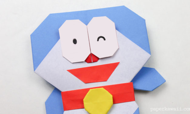 Origami Doraemon Tutorial