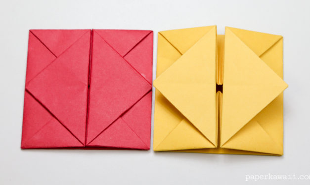 Origami Envelope Box Instructions